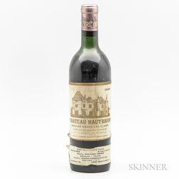 Chateau Haut Brion 1955, 1 bottle