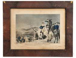 Washington, George (1732-1799) Washington Crossing the Delaware.