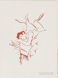 Henri de Toulouse-Lautrec (French, 1864-1901)      Ta bouche