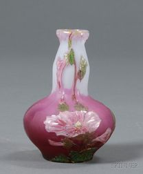 Burgur and Schverer Cameo Decorated Vase