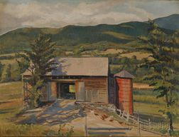 William Tefft Schwarz (American, 1887-1967)      Sandgate, Vermont