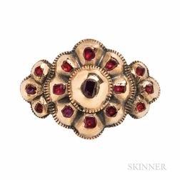 Antique Gold Gem-set Ring
