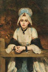 Charles Sillem Lidderdale (British, 1831-1895)      The Sunday Tryst