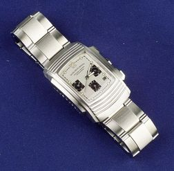 Gentleman's Stainless Steel Wristwatch, Mauboussin