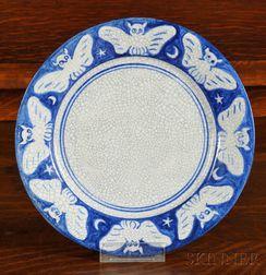 Dedham Pottery Owl Plate