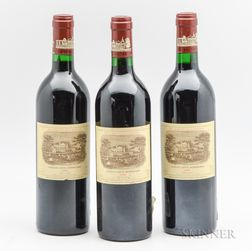 Chateau Lafite Rothschild 1986, 3 bottles