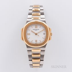 Single-owner Two-tone Patek Philippe Nautilus Reference 3800/001 Wristwatch