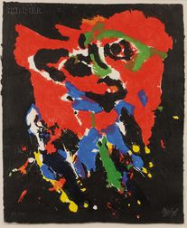 Karel Appel (Dutch, 1921-2006)      Untitled