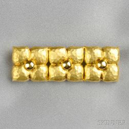 18kt Gold Brooch, Paloma Picasso, Tiffany & Co.