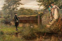 Alfred Walter Bayes (British, 1832-1909)    Thwarted