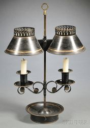 French Tole Student Lamp