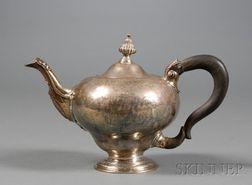 Early George III Silver Teapot