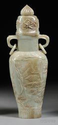 Jade Vase with Cover