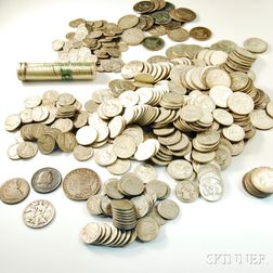 Group of Mostly Silver Coins
