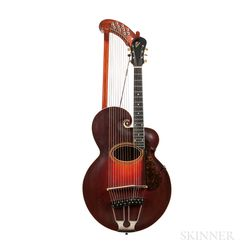 Gibson Style U Harp Guitar, 1917