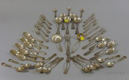 Assorted Sterling Flatware