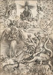 Albrecht Dürer (German, 1471-1528)      The Apocalyptic Woman