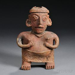 Nayarit Female Pottery Figure