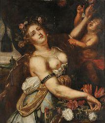 Attributed to Abraham Janssens (Flemish, 1575-1632)      Flora