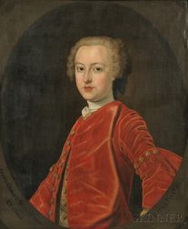 John Alexander (Scottish, c. 1690-c. 1765)      Cosmus George 3rd Duke of Gordon