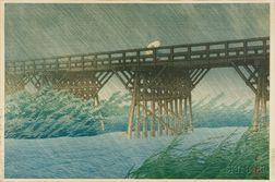 Three Prints by Kasui: