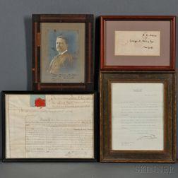 Autograph Collection, Twenty-five Frames: