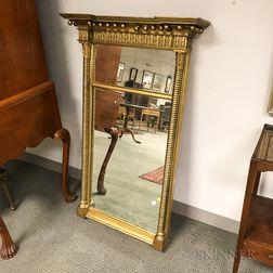 Federal Gilt Tabernacle Mirror