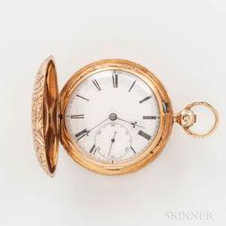 Joseph Johnson 14kt Gold Hunter-case Watch
