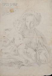 School of Giovanni Battista Pittoni, the Younger (Italian, 1687-1767)      Madonna and Child
