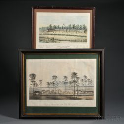 Two Civil War Lithographs