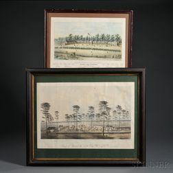 Two Civil War Lithographs