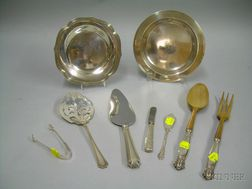 Eight Sterling Tablewares