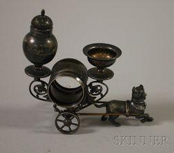 Meriden Victorian Silver Plated Napkin Ring.