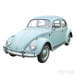 1963 Volkswagen Beetle with Sunroof