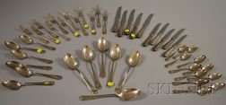 Durgin Sterling Silver Partial Flatware Service