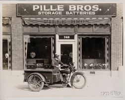 Fifty-five Vintage Harley Davidson Motorcycle Photographs