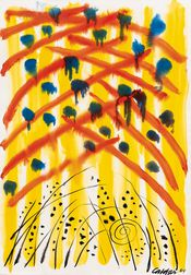 Alexander Calder (American, 1898-1976)      Young Rain