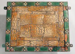 Moravian Pottery & Tile Works Architectural Plaque
