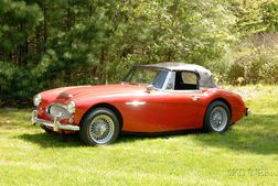 *1966 Austin Healey 3000 Mark III Roadster, VIN # HBJ8L78837, odometer reads approx. 86,206 miles