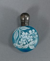 Cameo Glass Perfume, Attributed to Thomas Webb
