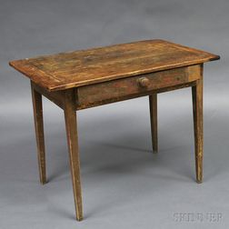 Country Painted Tavern Table