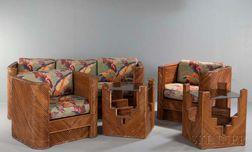 Five-piece Art Deco Porch Suite