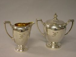 Seven Silver Plated Serving Items.