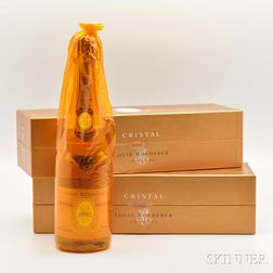Louis Roederer Cristal 2002, 2 bottles (ogb)
