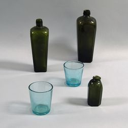 Five Early Glass Vessels