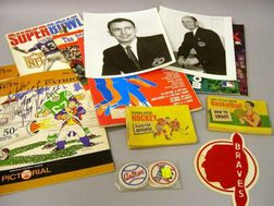 Group of Assorted Sports Collectibles