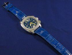 Lady's Aluminum and Diamond Wristwatch, Katherine Tess