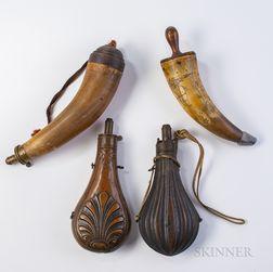 Four Powder Vessels