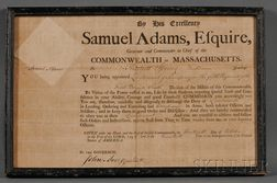 Adams, Samuel (1722-1803), Signer from Massachusetts