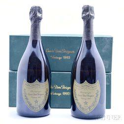 Moet & Chandon Dom Perignon 1993, 2 750ml bottles (oc)